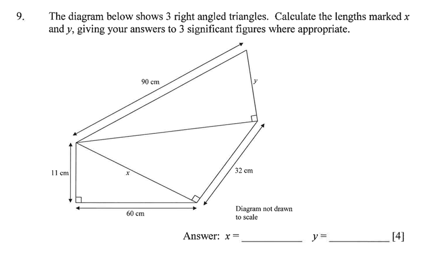Dulwich College - Year 9 Maths Specimen Paper A Question 12