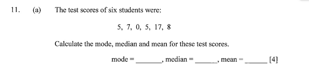 Dulwich College - Year 9 Maths Specimen Paper A Question 14