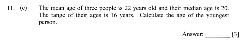 Dulwich College - Year 9 Maths Specimen Paper A Question 16