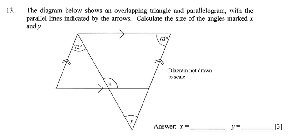 Dulwich College - Year 9 Maths Specimen Paper A Question 19