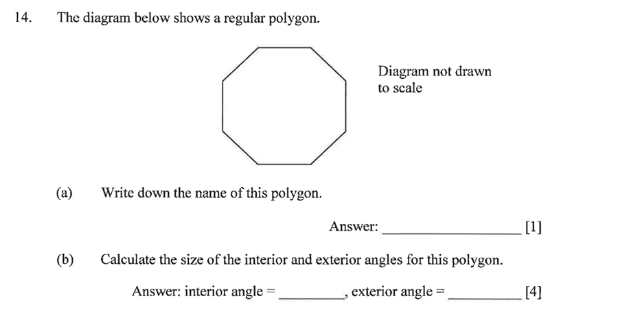 Dulwich College - Year 9 Maths Specimen Paper A Question 20