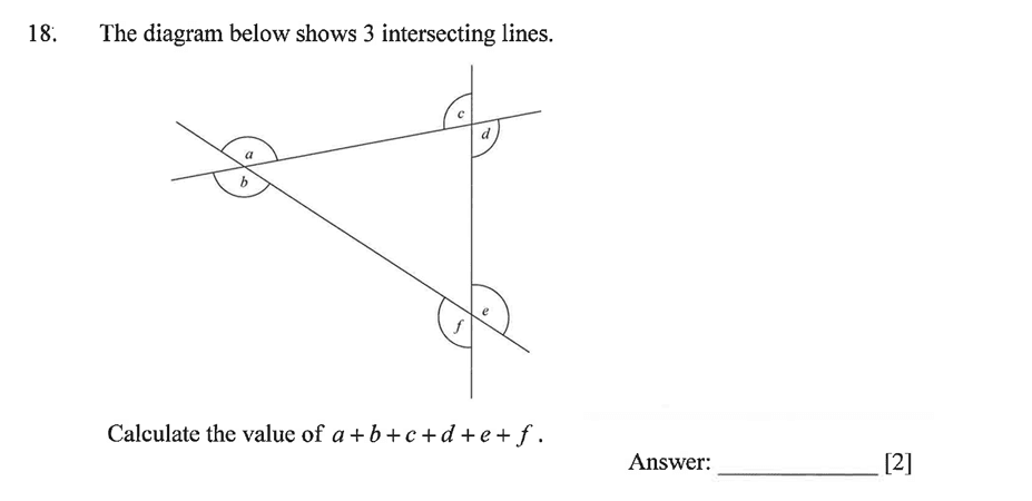 Dulwich College - Year 9 Maths Specimen Paper A Question 24