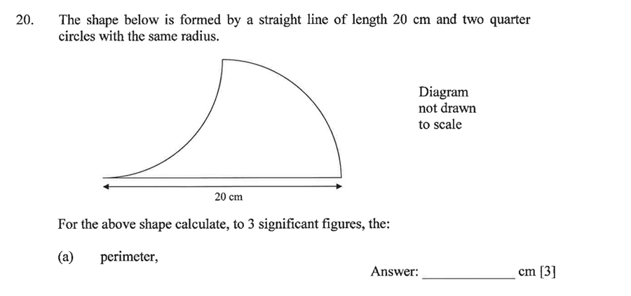 Dulwich College - Year 9 Maths Specimen Paper A Question 26