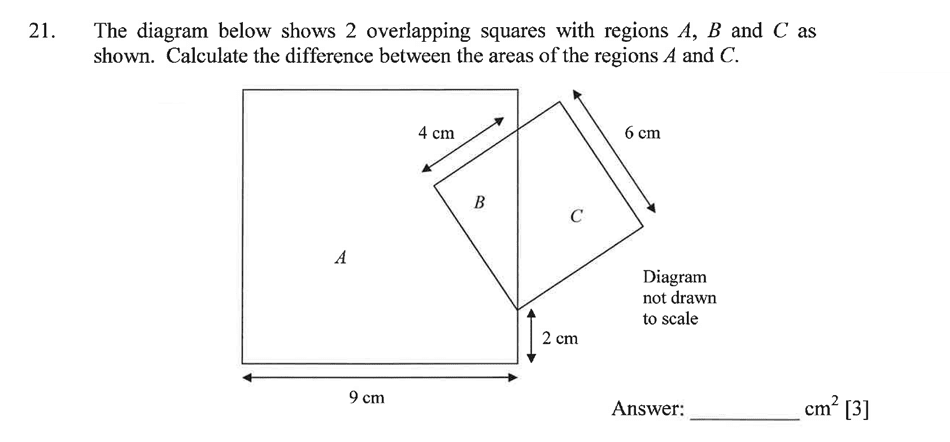 Dulwich College - Year 9 Maths Specimen Paper A Question 28