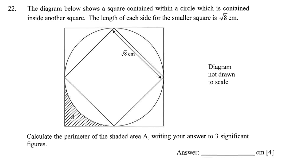 Dulwich College - Year 9 Maths Specimen Paper A Question 29
