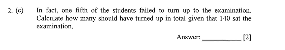 Dulwich College - Year 9 Maths Specimen Paper B Question 03