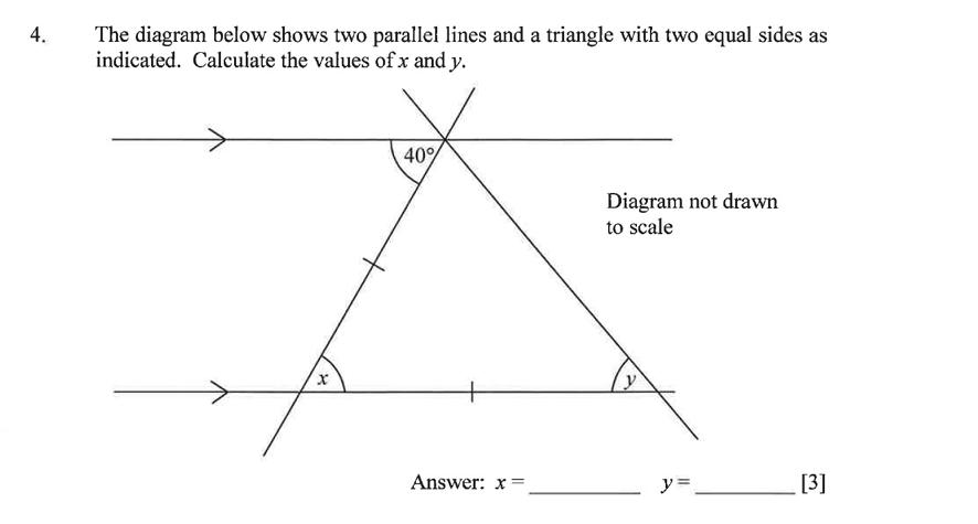 Dulwich College - Year 9 Maths Specimen Paper B Question 06