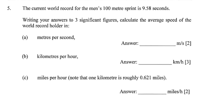Dulwich College - Year 9 Maths Specimen Paper B Question 07