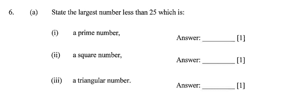Dulwich College - Year 9 Maths Specimen Paper B Question 08