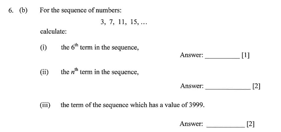 Dulwich College - Year 9 Maths Specimen Paper B Question 09