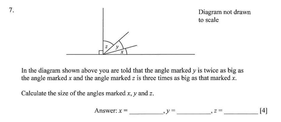 Dulwich College - Year 9 Maths Specimen Paper B Question 10