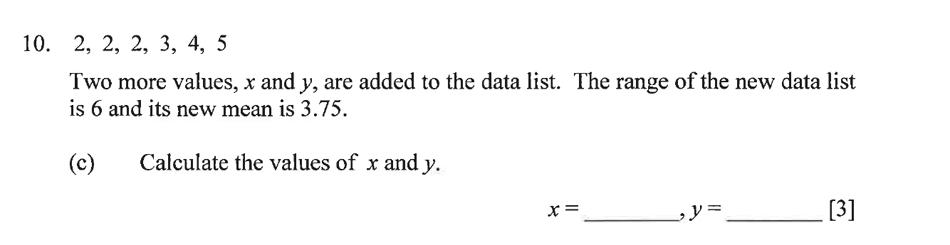 Dulwich College - Year 9 Maths Specimen Paper B Question 14