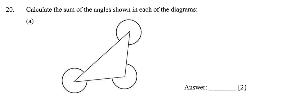 Dulwich College - Year 9 Maths Specimen Paper B Question 25