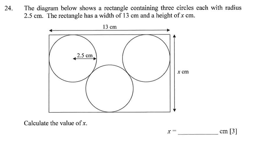 Dulwich College - Year 9 Maths Specimen Paper B Question 31