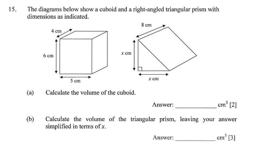 Dulwich College - Year 9 Maths Specimen Paper C Question 22