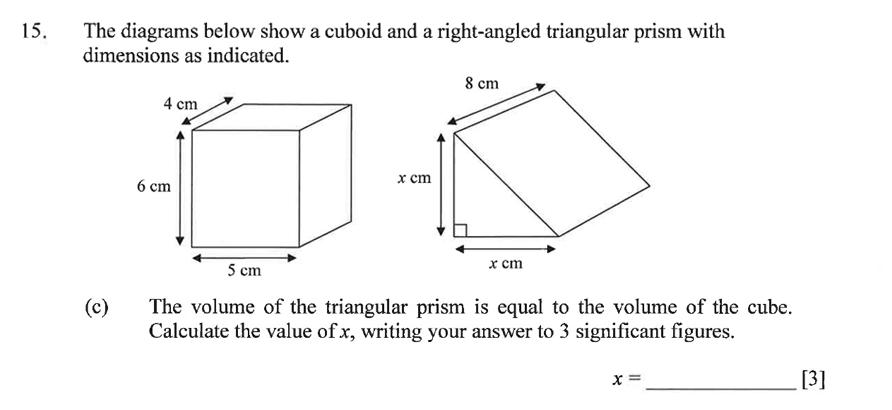 Dulwich College - Year 9 Maths Specimen Paper C Question 23