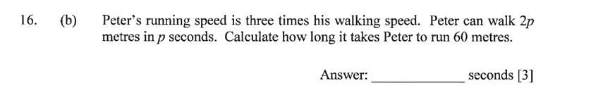 Dulwich College - Year 9 Maths Specimen Paper C Question 25