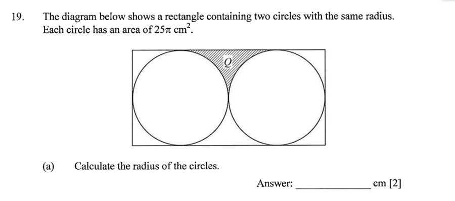 Dulwich College - Year 9 Maths Specimen Paper C Question 29