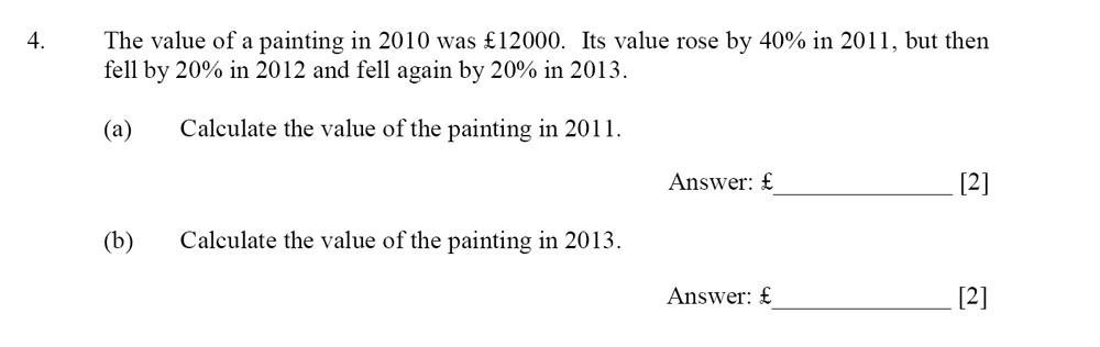 Dulwich College - Year 9 Maths Specimen Paper D Question 04