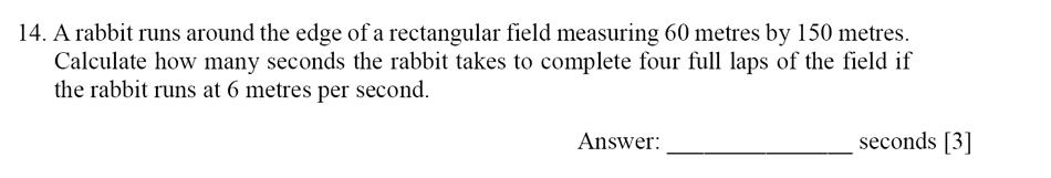 Dulwich College - Year 9 Maths Specimen Paper E Question 14