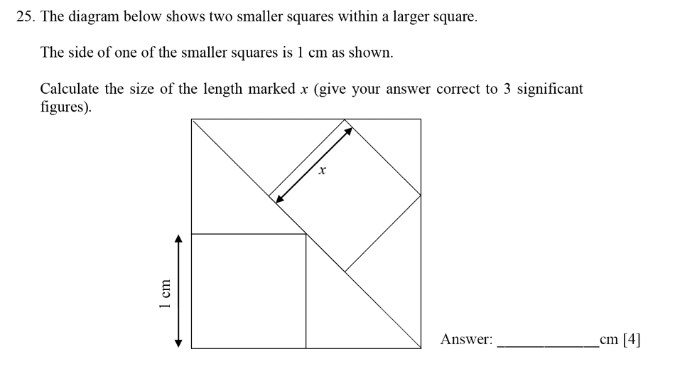 Dulwich College - Year 9 Maths Specimen Paper E Question 26