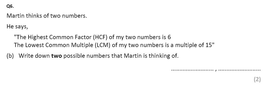 Eltham College - 13 Plus Maths Sample Paper 2017 Qusetion 08