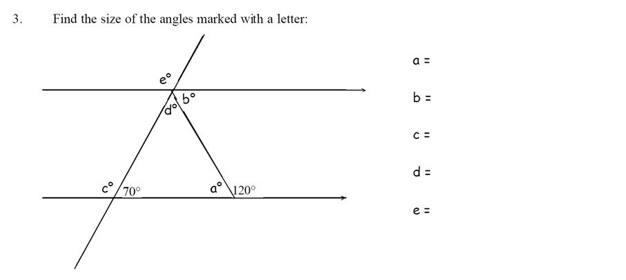 Emanuel School - 13 Plus Maths Sample Paper Question 03
