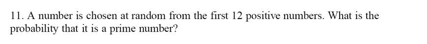 Emanuel School - 13 Plus Maths Sample Paper Question 11