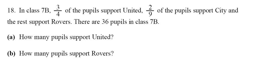Emanuel School - 13 Plus Maths Sample Paper Question 20