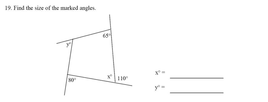 Emanuel School - 13 Plus Maths Sample Paper Question 21