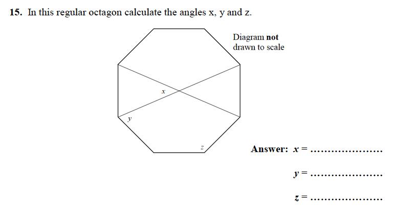 Forest School - 13 Plus Maths Sample Paper 1 Question 17