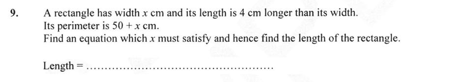 Forest School - 13 Plus Maths Sample Paper 2 Question 09