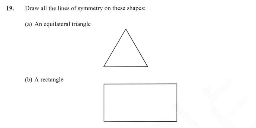 Forest School - 13 Plus Maths Sample Paper 2 Question 20