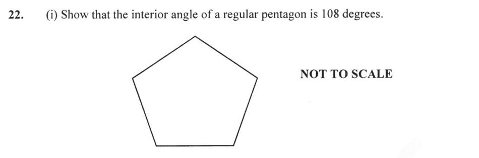 Forest School - 13 Plus Maths Sample Paper 2 Question 25