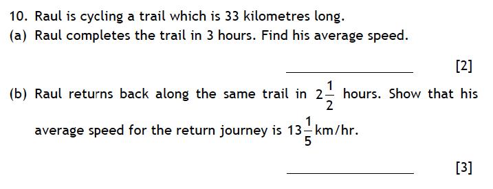 Haberdashers' Aske's Boys' School (HABS) - 13 Plus Maths Entrance Exam 2015 Question 11