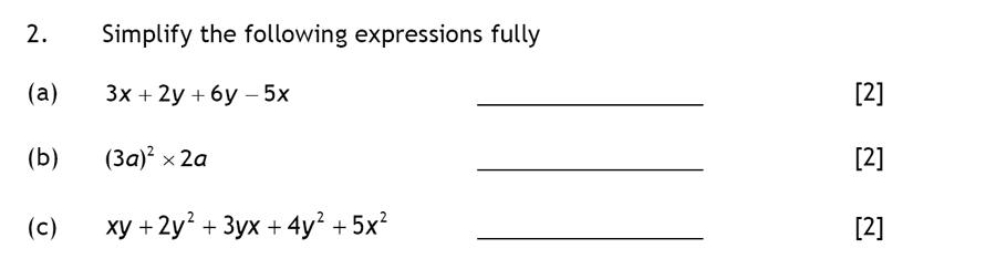 Haberdashers' Aske's Boys' School (HABS) - 13 Plus Maths Question 02