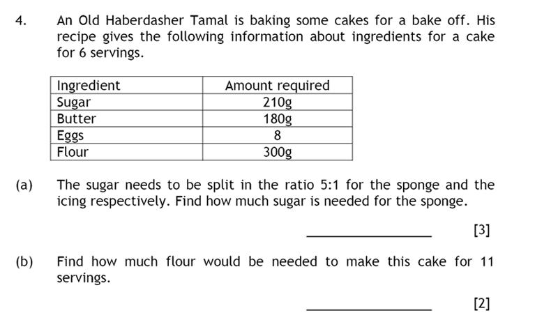 Haberdashers' Aske's Boys' School (HABS) - 13 Plus Maths Question 04