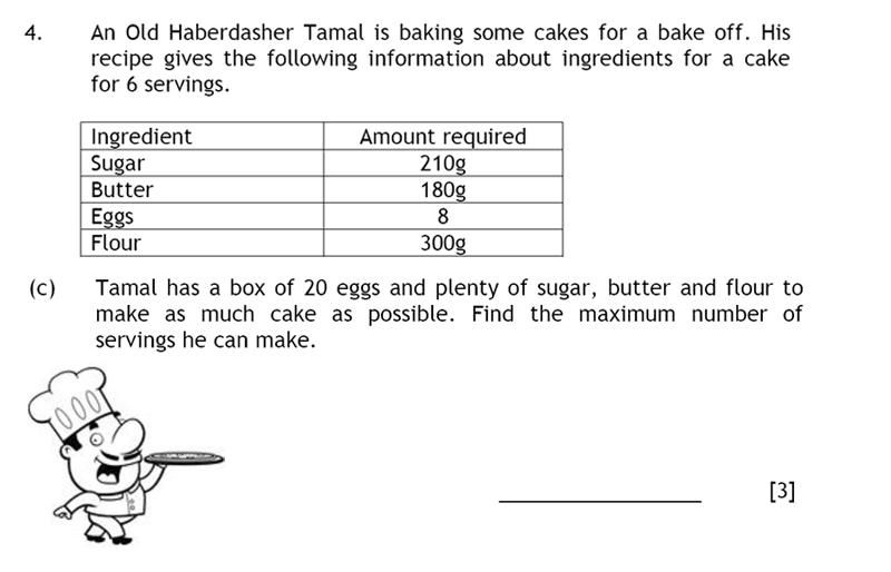 Haberdashers' Aske's Boys' School (HABS) - 13 Plus Maths Question 05