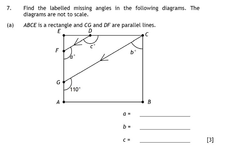 Haberdashers' Aske's Boys' School (HABS) - 13 Plus Maths Question 09