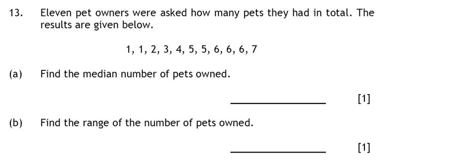 Haberdashers' Aske's Boys' School (HABS) - 13 Plus Maths Question 22