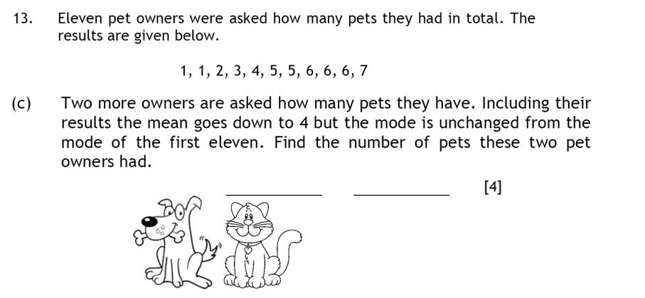 Haberdashers' Aske's Boys' School (HABS) - 13 Plus Maths Question 23
