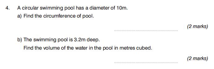 King's College Junior School - 13 Plus Maths Calculator Paper 1 Question 06