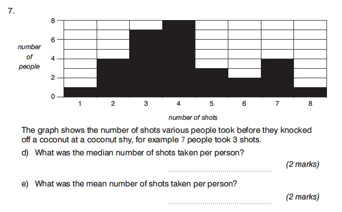 King's College Junior School - 13 Plus Maths Calculator Paper 1 Question 12