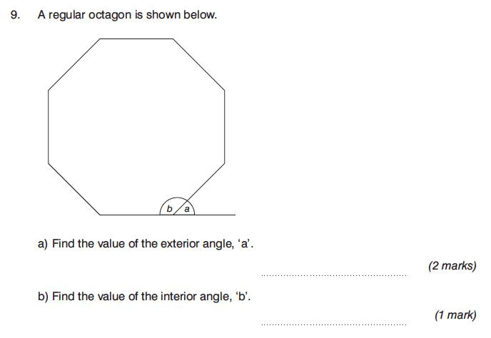 King's College Junior School - 13 Plus Maths Calculator Paper 1 Question 14