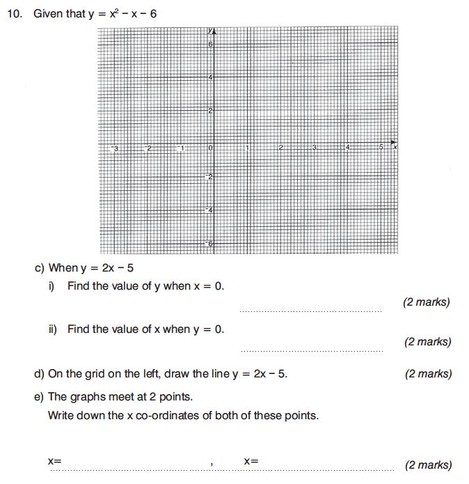 King's College Junior School - 13 Plus Maths Calculator Paper 1 Question 17