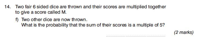 King's College Junior School - 13 Plus Maths Calculator Paper 1 Question 25