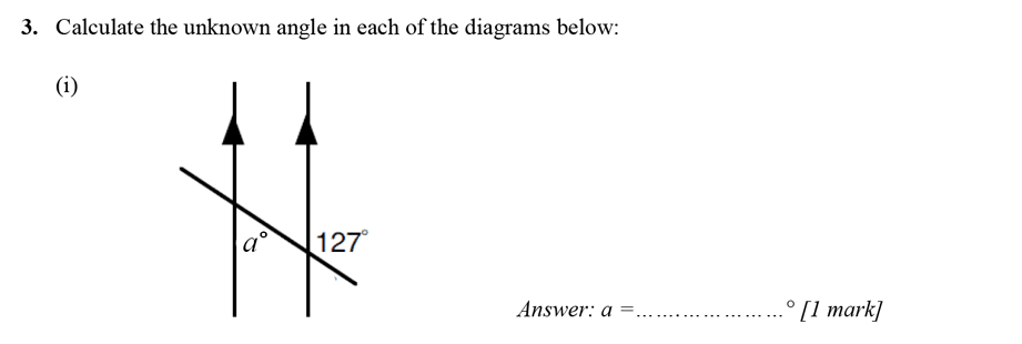 Merchant Taylors' School - 13 Plus Maths Entrance Exam 2017 Question 04