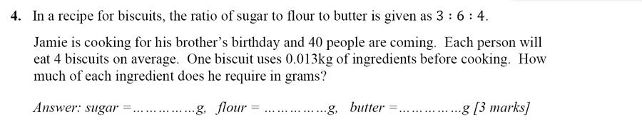 Merchant Taylors' School - 13 Plus Maths Entrance Exam 2017 Question 07