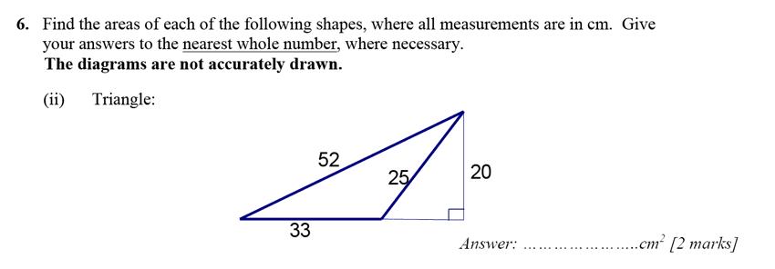 Merchant Taylors' School - 13 Plus Maths Entrance Exam 2017 Question 10