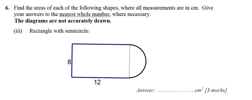 Merchant Taylors' School - 13 Plus Maths Entrance Exam 2017 Question 11